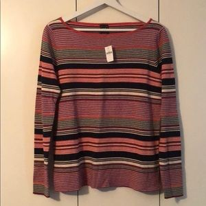 GAP striped light sweater